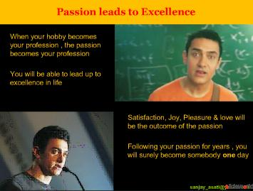 3 Idiots lessons to learn