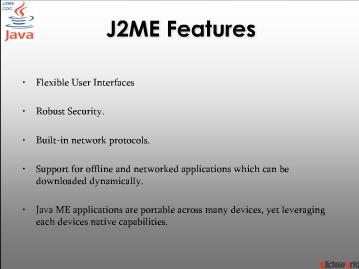 J2ME Application Development