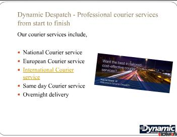 Couriers York - Couriers service from Dynamic Despatch Limited UK