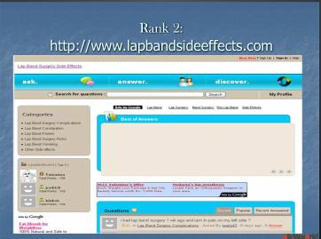 Top 5 lap band surgery side effects sites
