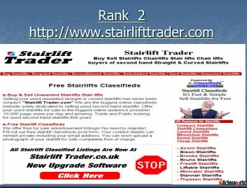 Top 5 stair lifts chair sites