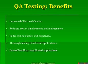 QA Testing
