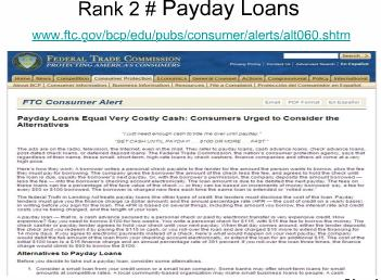 Top 5 Sites of Payday Loans