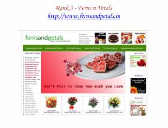 Top Five Sites of Online Flower Delivery 