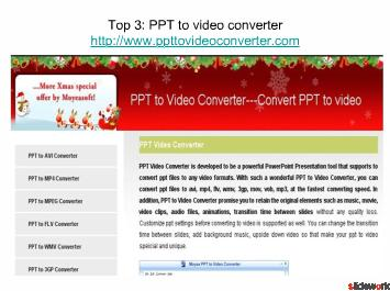 convert ppt to dvd