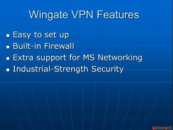 Wingate VPN