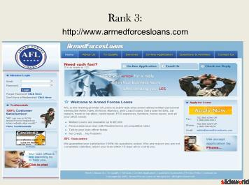 Top 5 sites of no credit check military loan