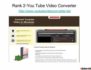 Top 5 Sites of FLV Converter