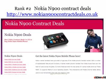Top 5 sites of mobile phone contract deals