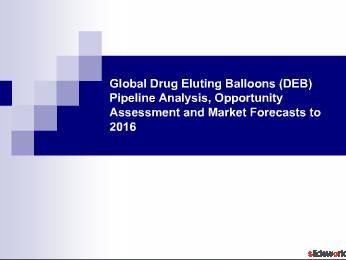 Global Drug Eluting Balloons (DEB) Market Forecasts to 2016
