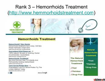 Top Five Hemorrhoid Treatments