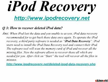Top Five iPad Data Recovery Tools