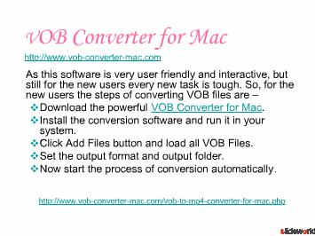Top Five Video Converter For Mac Tools
