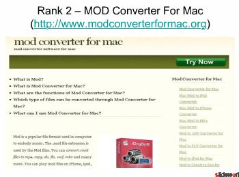Top Five MOD Video Converter Tool