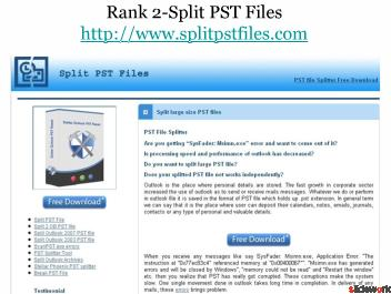 Top 5 Software on Scan PST
