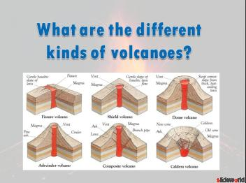 Volcanoes Hot Stuff  Volcano Powerpoint (PPT)