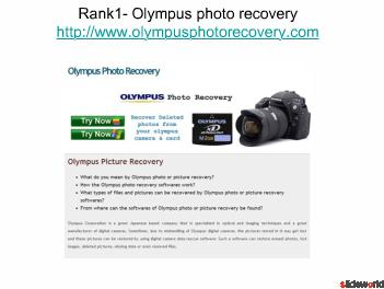 Top Five sites of Photo recovery
