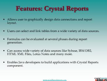 Crystal reports Development