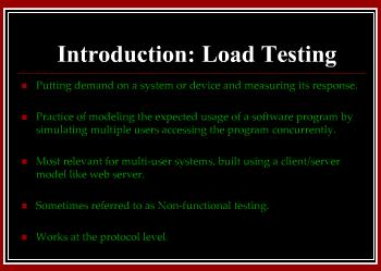 Load Testing