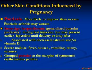 Skin and Pregnancy