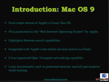 Mac OS 9 Development