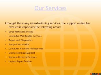The Support Online Services
