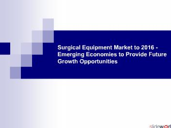 Surgical Equipment Market to 2016