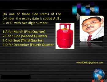Domestic LPG cylinder safety