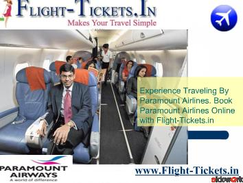 Cheap Flight Tickets From Indian Travel Website