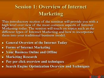 UK Internet Marketing Seminar for Business 