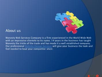 web design services - Wonesty