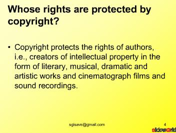 Copyright Act in India