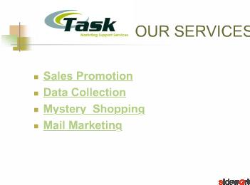 TASK MARKETING SUPPORT SERVICES