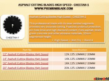 Asphalt Saw Blades - Premiumblade.Com