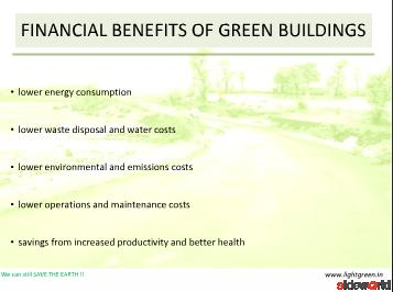 Green building development.