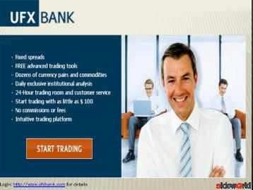 Best Forex Broker UFX Bank