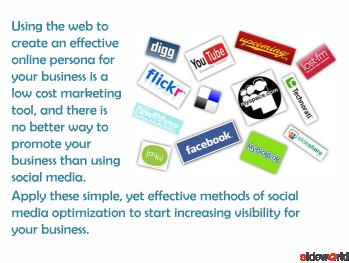 Social Media Powerpoint(PPT)  Social Media Optimization PPT