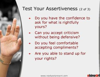 Assertiveness (Modern) PowerPoint Presentation Content 133 slides