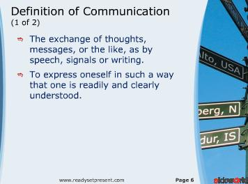 Communication PowerPoint (Modern) Presentation Content 123 slides