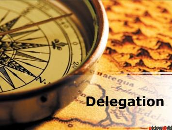 Delegation (Modern) PowerPoint Presentation Content 128 slides
