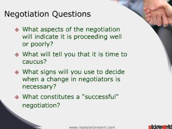 Negotiation (Modern) PowerPoint Presentation Content 121 slides