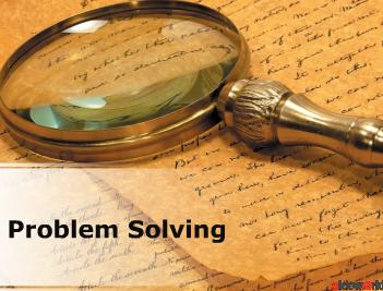 Problem Solving (Modern) PowerPoint Presentation Content 143 slides