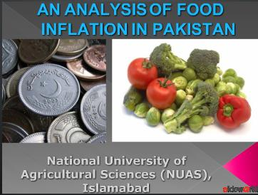 Food Inflation in Pakistan