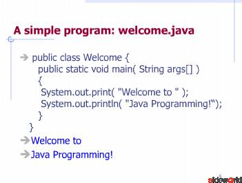 java ppt