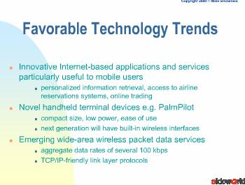challenges in mobile and wireless systems