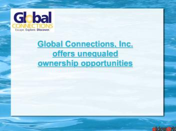 Global Connections, Inc. - Travel Club