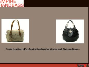 Empire Handbags - Women