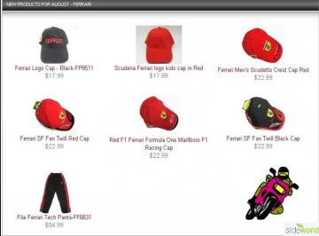Ferrari Caps show