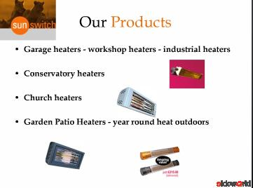 SunSwitch – Perfect place for Industrial and Garden heaters