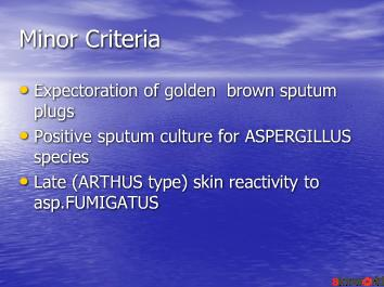 allergic broncopulmonary aspergillosis